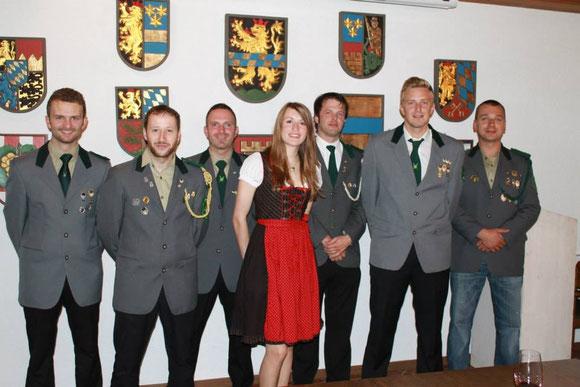 Empfang durch 1. Bürgermeister Johann Walbrunn und Eintrag ins Goldene Buch der Stadt Pleystein