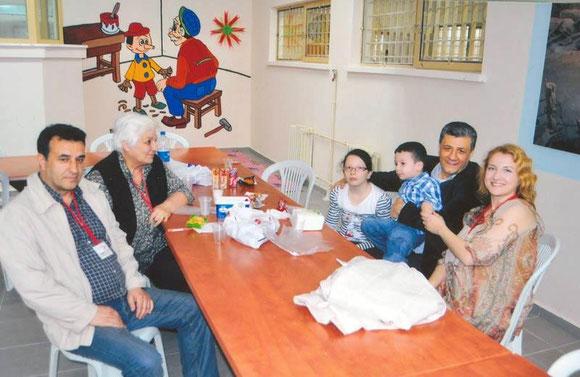 Açık görüşte bulunma bayramı /// Kardeşim Suat, kayınvalidem Melek Atalay, ailecek açık görüşte. M.Balbay