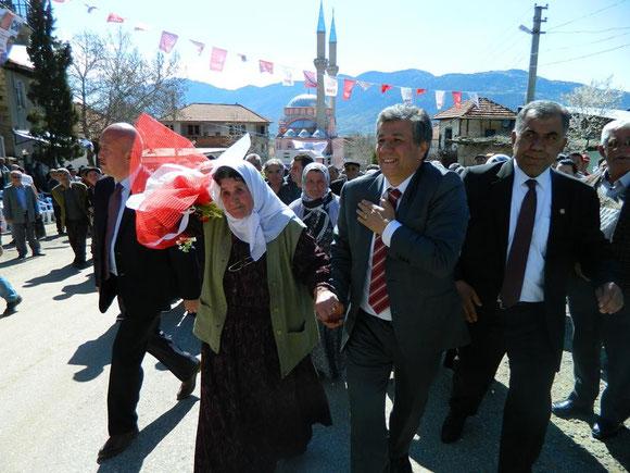 20.03.2014 Güneye Ziyaret ve CHP Secim Konusmasi.