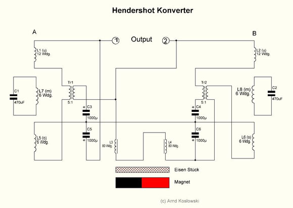 Hendershot-Konverter Schaltplan