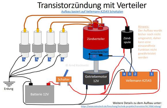 Transistorzündung für mehrere Zundkerzen