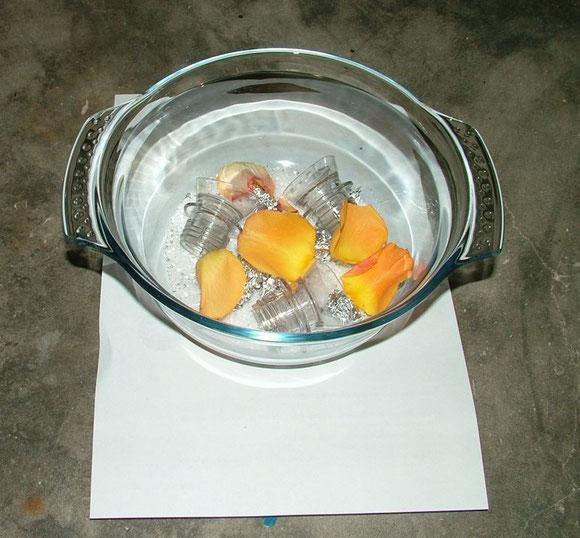 Saucenherstellung 2 - Zutaten in Schüssel (Nanocoating Part2)