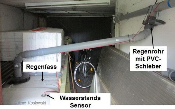 PVC-Schieber Gesamtaufbau