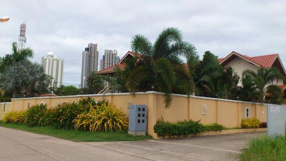 パタヤの住宅街