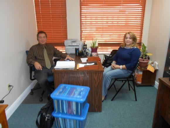 Foto de archivo de 2012, en la Suite 307.
