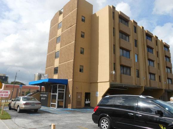 Edificio 4011. En 2012, se rentó la Suite 301, prevista primero para 4 Filiales y Oficina Principal. En 2013 quedó como Sucursal y en 2014 hasta enero de 2016 fue Filial de Ojeda Corp. rentada por Censenat Multiservices Corp.
