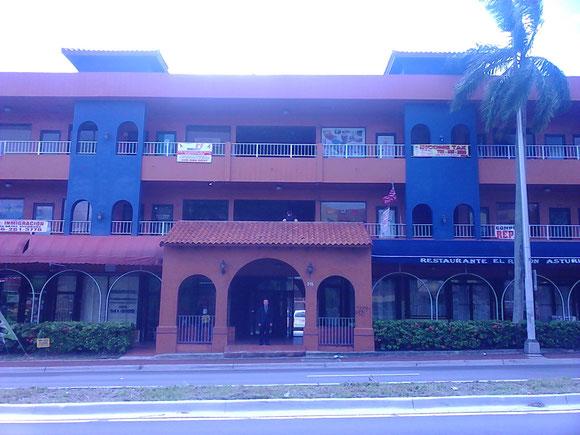 Edificio 215, segundo en 2012 con locales para income taxes de Ojeda (Multiservices) Corp. Tuvo primero como Filiales las Suites 315 y 304 en 2012, que en 2013 pasaron a Sucursales hasta 2014 (la 315) y julio de 2015 (la 304)
