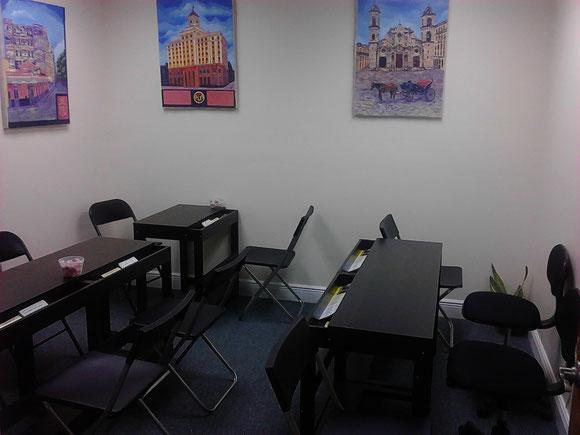Foto de archivo de 2013. Una de las 4 oficinas de la Suite 307. La primera rentada por Ojeda Corp. en Hialeah. En ella se atendieron clientes en las temporadas 2012 y 2013