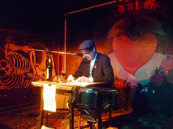 Autorenlesung Lars Gebhardt 06.02.14 Berlin, Wild At Heart