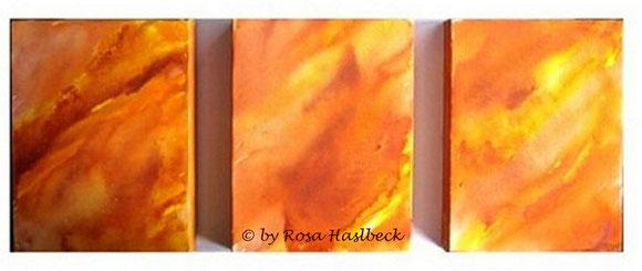 Aquarell, aquarellbild,  orange,  gelb, bild, malen, malerei, kunst, deko, dekoration, wandbild, abstrakt