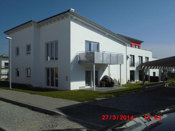 Innen und Aussenputz,Fassadenanstrich An der Breiteich Gottwollshausen