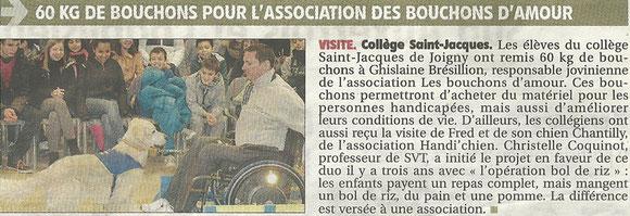 L'Yonne républicaine du lundi 2 décembre 2013