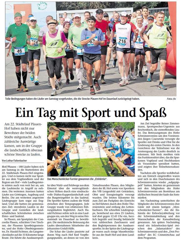Quelle: Frankenpost (Hofer Anzeiger) vom 12.08.2013