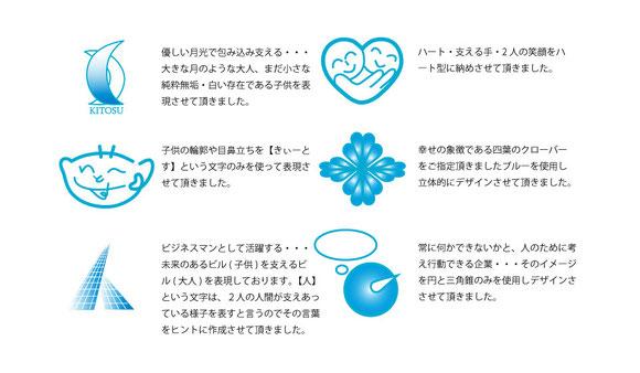 某養護施設様向け 企業 ロゴマーク ご提案例