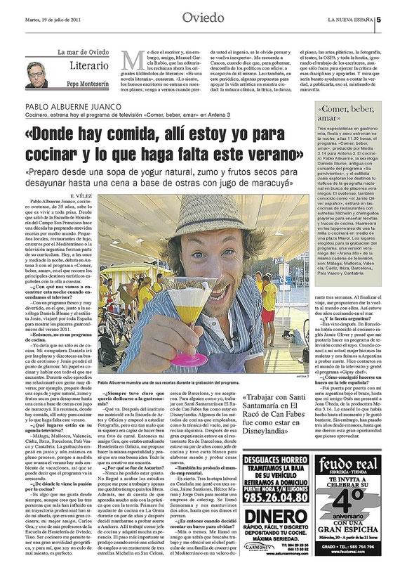"Promo ""Comer, beber, amar"" Antena3"