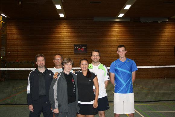 Jürgen, Norbert, Eva, Maren, Thomas, Matthias