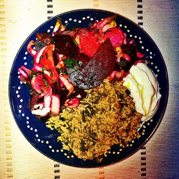 Rote-Bete-Salat. Foto: Oliver Marcus Kaptein / Quelle: www.Kaptein.de
