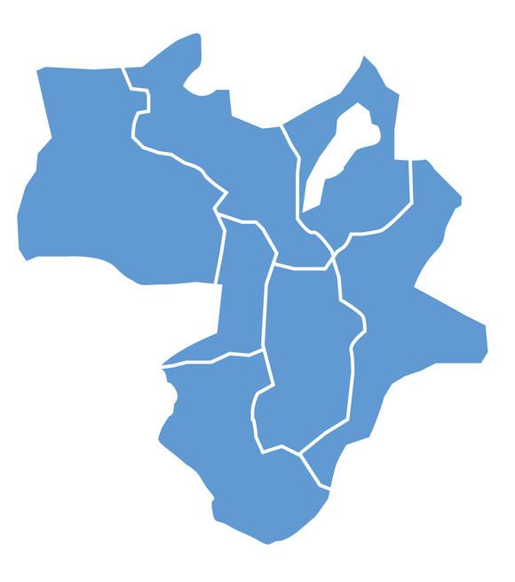 近畿2府4県 対応可能地域
