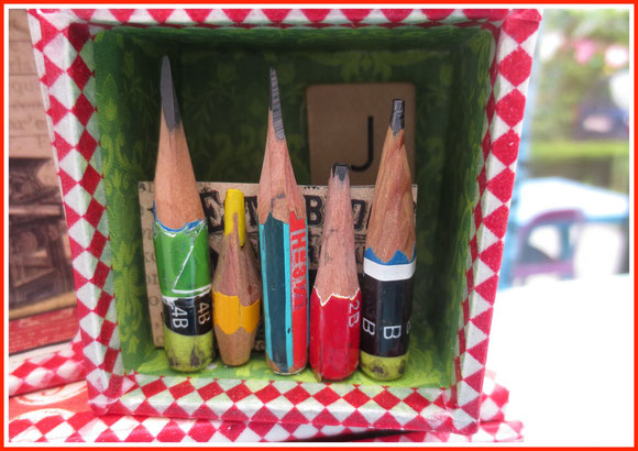 used pencil box