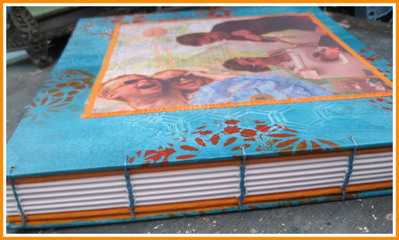 handsewed book