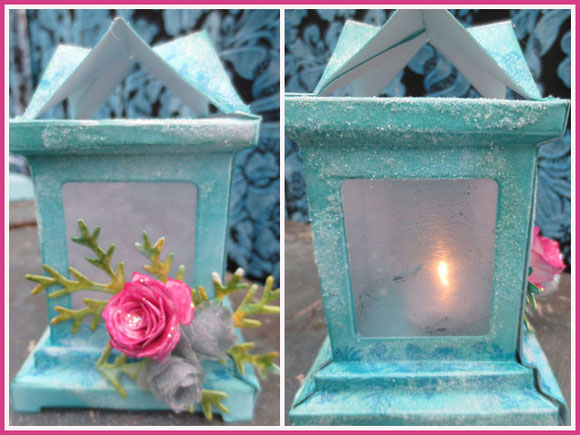 winter 3D luminary