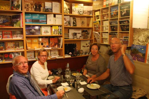 Bild: Restaurant Au plaisir des yeux, Simiane la Rotonde