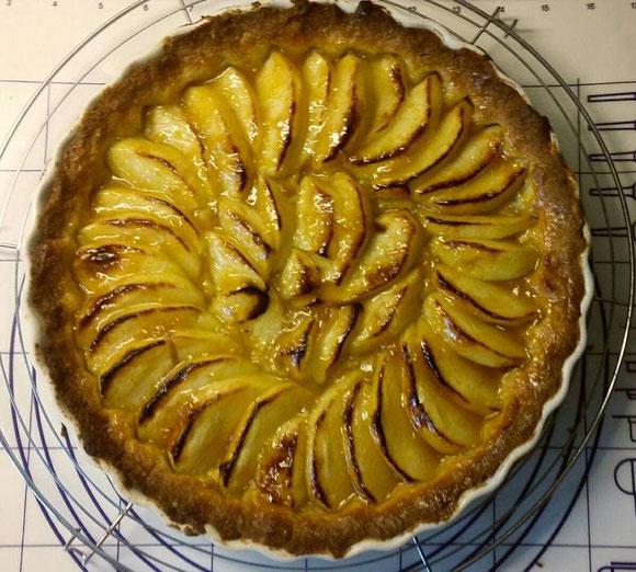 Bild: Rezept Tarte aux Pommes