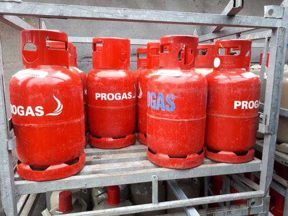 11 kg Treibgas (Staplergas)