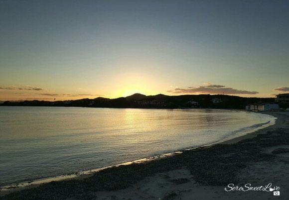 Tramonto Terza Spiaggia Golfo Aranci