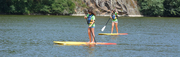 Stand up Paddle Base de Loisirs de Mervent