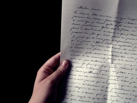 La toute dernière Lettre d'un Inconnu...