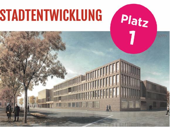 Neubau Rathaus, Wettbewerbssieger