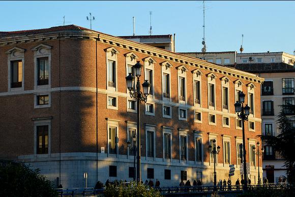 dvorets del Marques de Grimaldi Godoy en Madrid