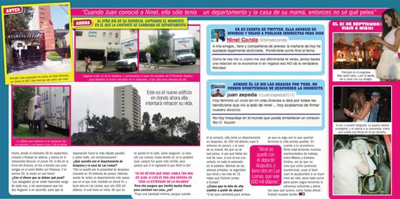Ilustración tomada de la revista TV y Notas.