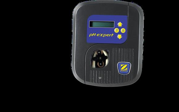 Régulateur de PH ZODIAC. La correction du pH précise et sécurisée, en toute simplicité.