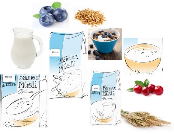 Barnhiuse - Feines Müsli- Quinoa - Müsli - Frühstück - Packaging - Design - Konzept - DesignKis - 2011 - Verpackung