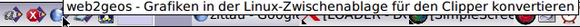 """""""web2geos"""" im JWM-Tray"""