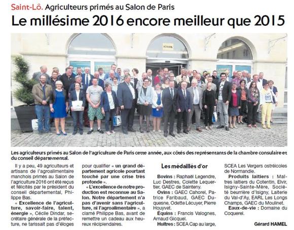 La Presse de la Manche, 28/06/2016