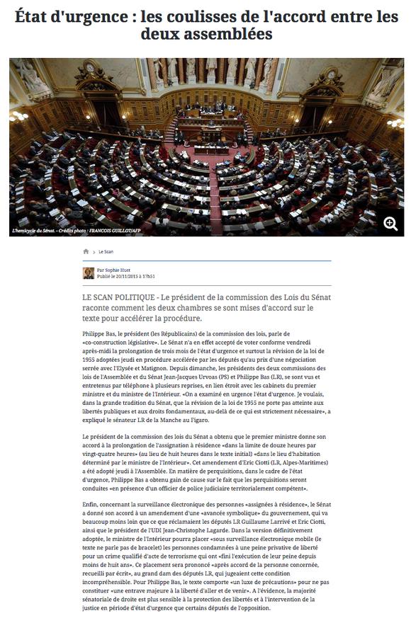 Le Figaro, 20.11.2015
