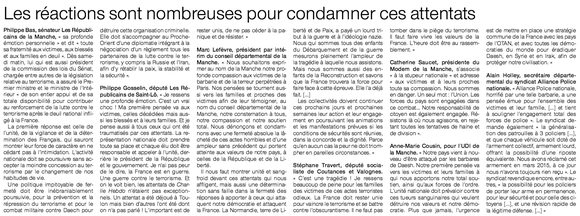 Ouest-France, 16/11/2015