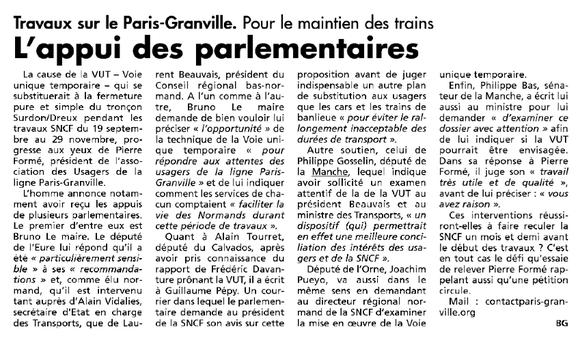 Le Réveil normand, 05/08/2015