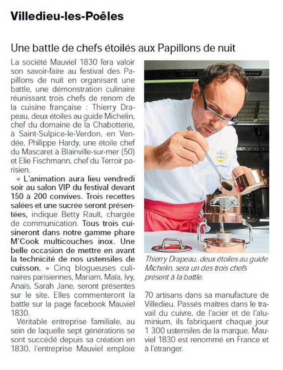 Ouest-France, 19/05/2015