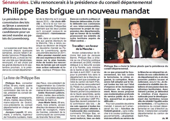 La Presse de la Manche, 11/07/2017
