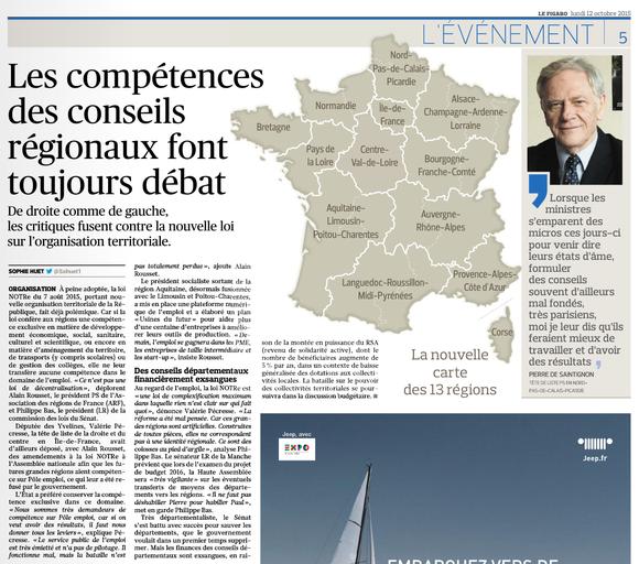 Le Figaro, 12/10/2015