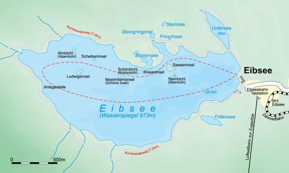Rundwanderweg Eibsee