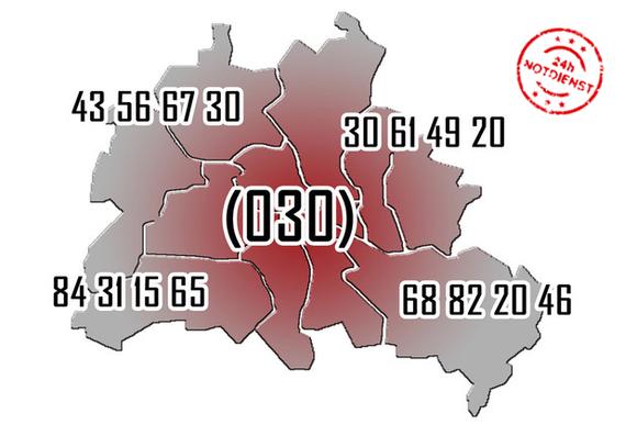 Schlüsseldienst Berlin Notdienst in allen Bezirken Berlin