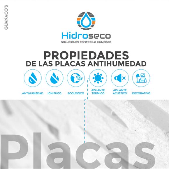 Placas Antihumedad Hidroseco