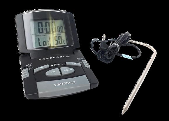 Termómetro digital para alimentos con certificado trazable a NIST 4147