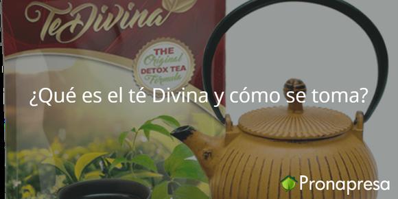 ¿Qué es el té Divina y cómo se toma?