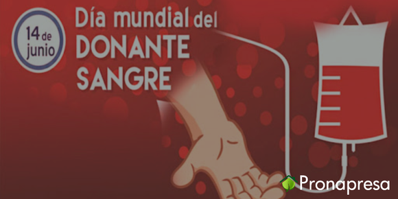 14 de junio día mundial del donante de sangre